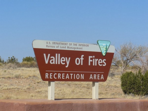 Panneau Valley of Fires Recreation Area