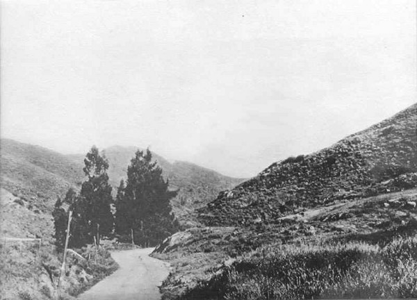 Cahuenga Pass en 1882