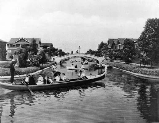 Venice Canal, 1909