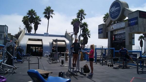 Muscle Beach Venice Beach