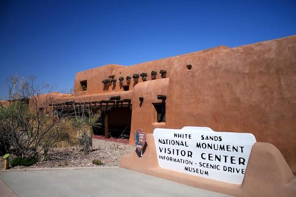 Visitor Center White Sands NM