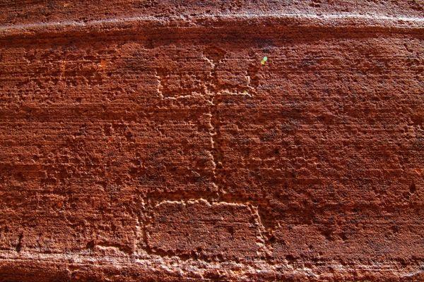 pétroglyphes indiens Wire Pass Utah
