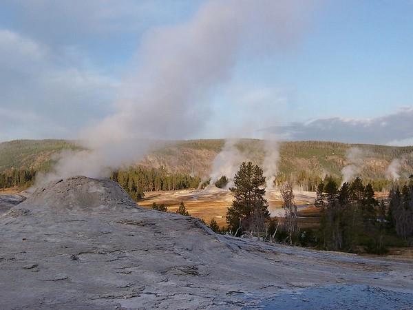 Geyser Hill Yellowstone