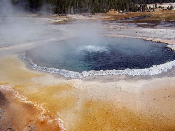 Crested Pool Yellowstone