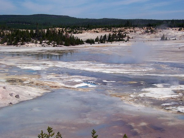 Porcelain Basin Yellowstone