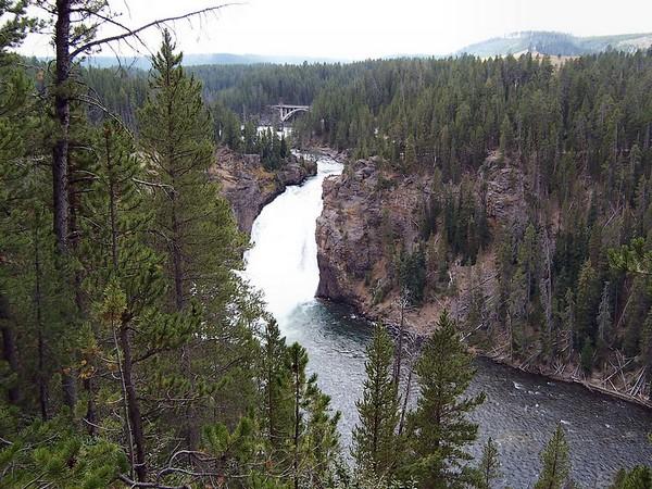 Upper Falls Viewpoint Yellowstone