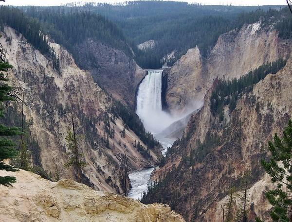 Artist Point Yellowstone