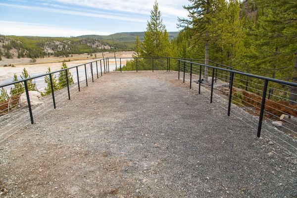 Grand Prismatic Spring Overlook Trail Yellowstone