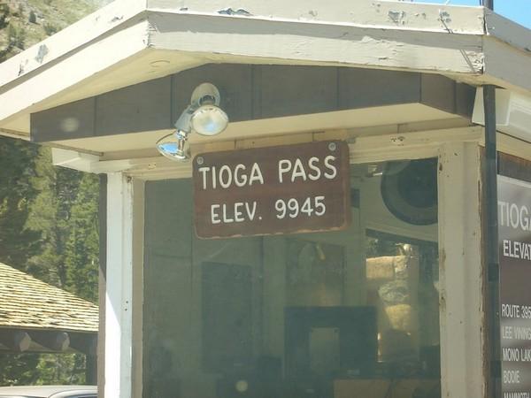 Tioga Pass, le col le plus haut de Californie