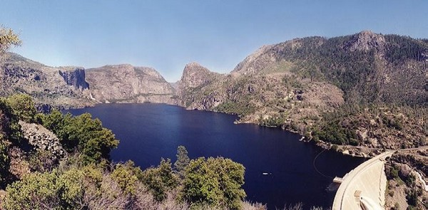Hetch Hetchy Reservoir Yosemite Park