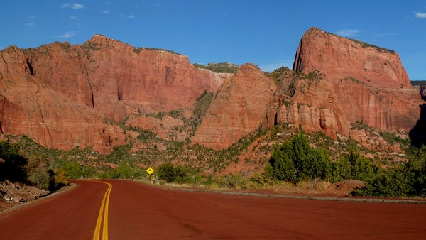 Scenic Road Kolob Canyons Zion NP