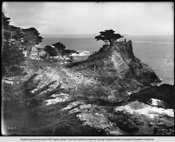 Cypress Point along 17 Mile Drive, circa 1908