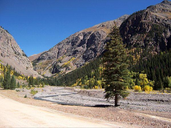 En route vers Animas Forks Colorado