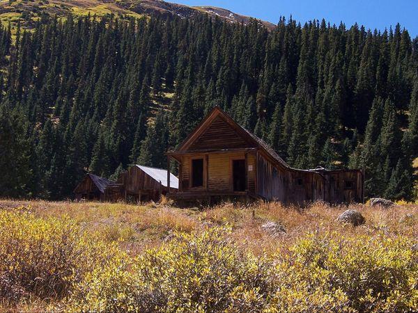 Maison abandonnée Animas Forks