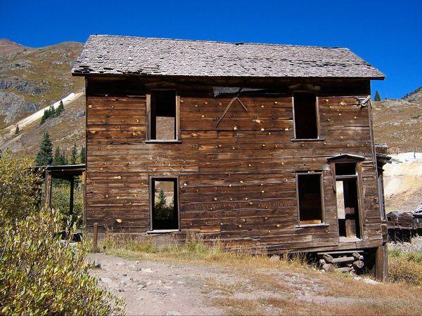 The bay window house Animas Forks