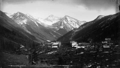 Animas Forks, circa 1878 William Henry Jackson (1843-1942) Denver Public Library - History Colorado, William Henry Jackson Collection