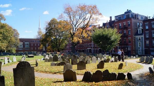 Copp's Hill Burying Ground Boston