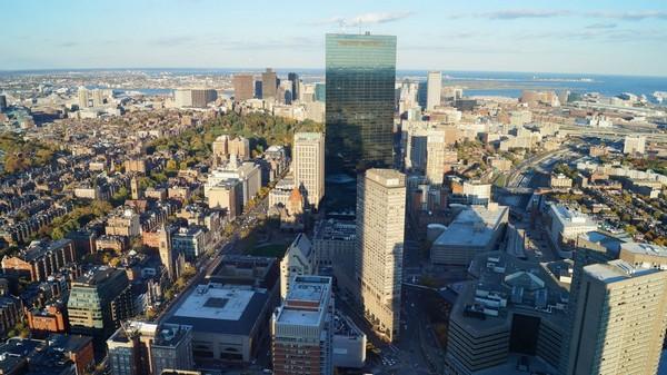 Prudential Center Skywalk Boston