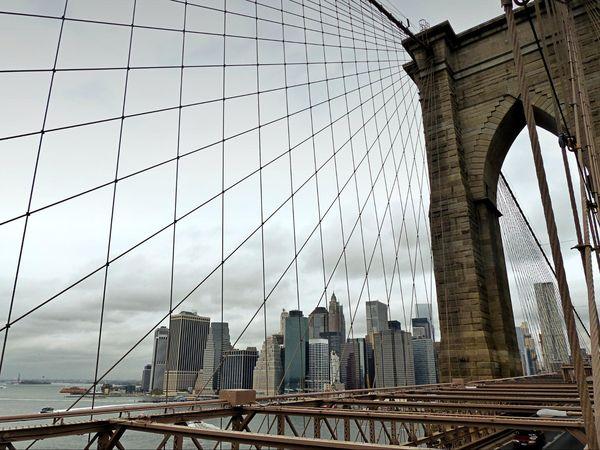 Pointe de Manhattan depuis le pont de Brooklyn
