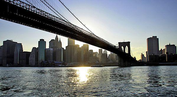 Brooklyn Bridge au Sunset New York