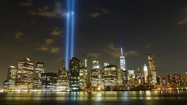 Tribute in Light hommage 11 septembre Manhattan New York