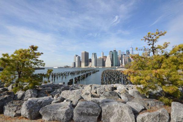 Manhattan depuis la Brooklyn Heights Promenade