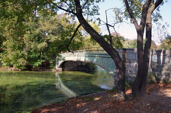 Lullwater Bridge Prospect Park Brooklyn New York