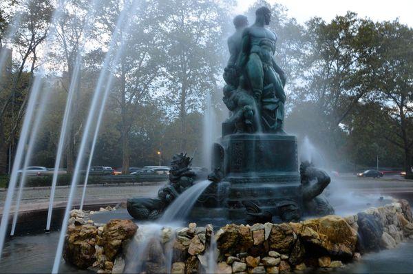 Neptune & Triton Bailey Fountain Brooklyn New York