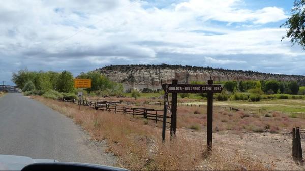 Boulder Burr Trail scenic road Utah