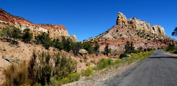 Circle Cliffs Burr Trail Road Utah