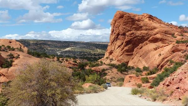 Strike Valley Burr Trail Road Utah