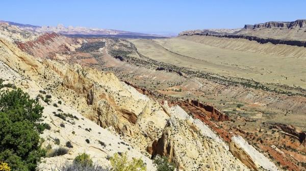 Waterpocket Fold Burr Trail Road Utah