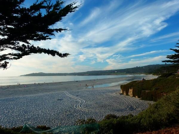 Carmel Beach plage