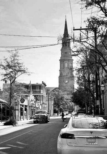 St Philip's Episcopal Church sur Church Street Charleston Caroline du Sud