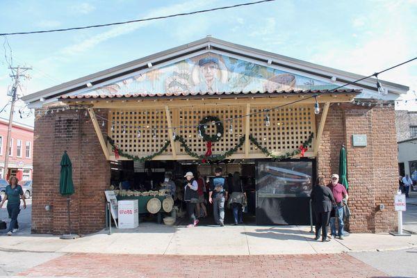 Historic City Market Charleston Caroline du Sud