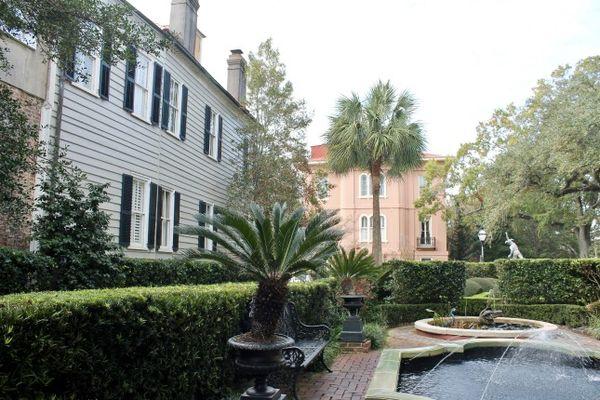 Jardins Calhoun Mansion Charleston Caroline du Sud