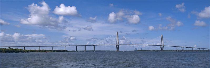 Arthur Ravenel Jr. Bridge Charlaeston Caroline du Sud