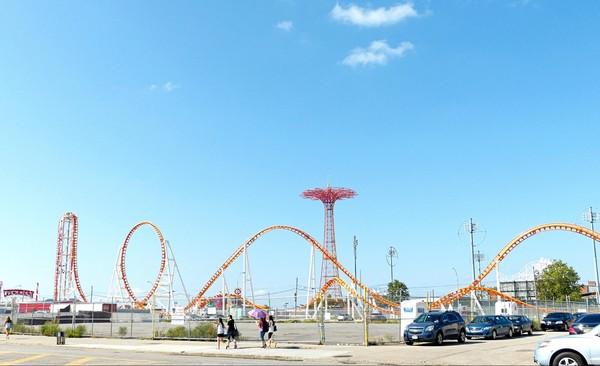Luna Park Coney Island Brooklyn New York USA
