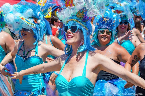 Mermaid Parade Coney Island Brooklyn New York USA