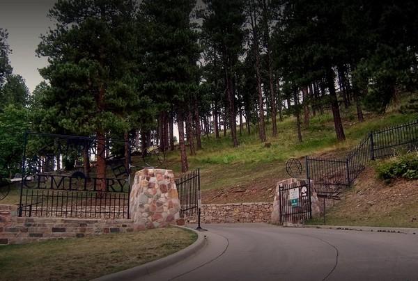 Entrée du Mount Moriah Cemetary Deadwood