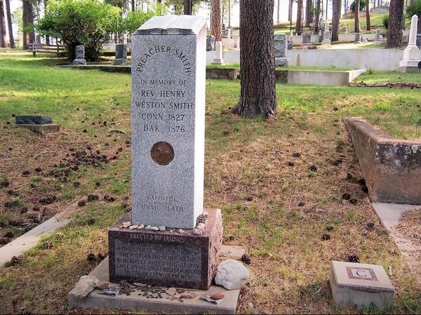 Tombe de Preacher Smith Mount Moriah Cemetary Deadwood