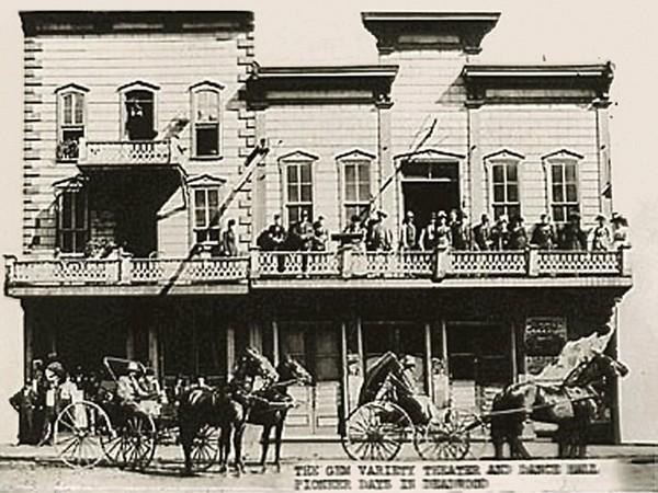 The Gem Theater Deadwood 1878