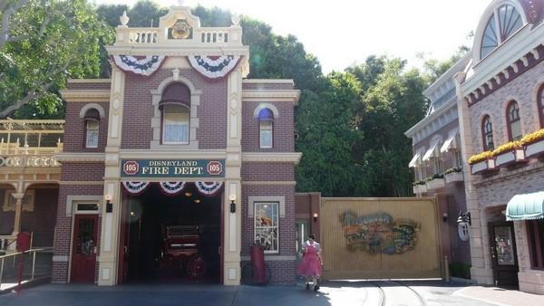 L'appartement de Walt Disney Disneyland Los Angeles