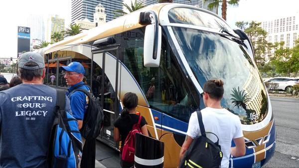 Bus express pour Downtown Las Vegas