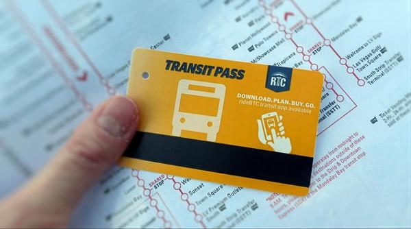Transit Pass RTC Las Vegas