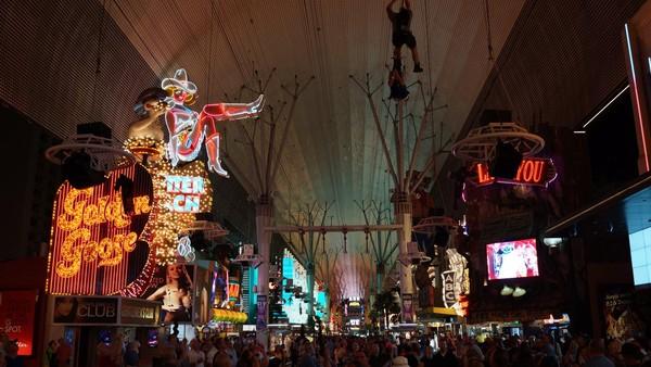 Fremont Street Downtown Las Vegas