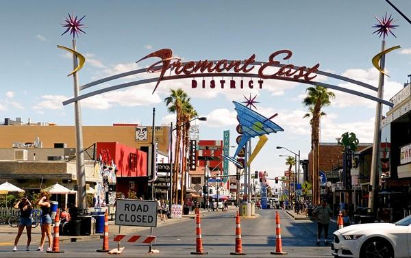 Fremont East District Downtown Las Vegas