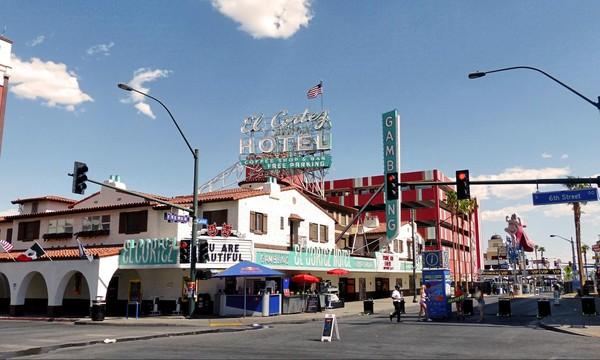 El Cortez Hotel Fremont East District Downtown Las Vegas