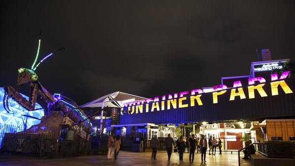 Container Park Downtown Las Vegas