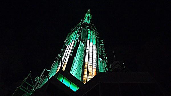 L'Empire State Building aux couleurs de la Saint Patrick